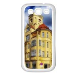 Berlin Friednau Germany Building Samsung Galaxy S3 Back Case (White) Front