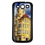 Berlin Friednau Germany Building Samsung Galaxy S3 Back Case (Black) Front