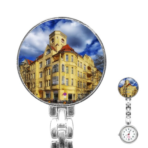 Berlin Friednau Germany Building Stainless Steel Nurses Watch