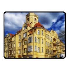 Berlin Friednau Germany Building Double Sided Fleece Blanket (Small)