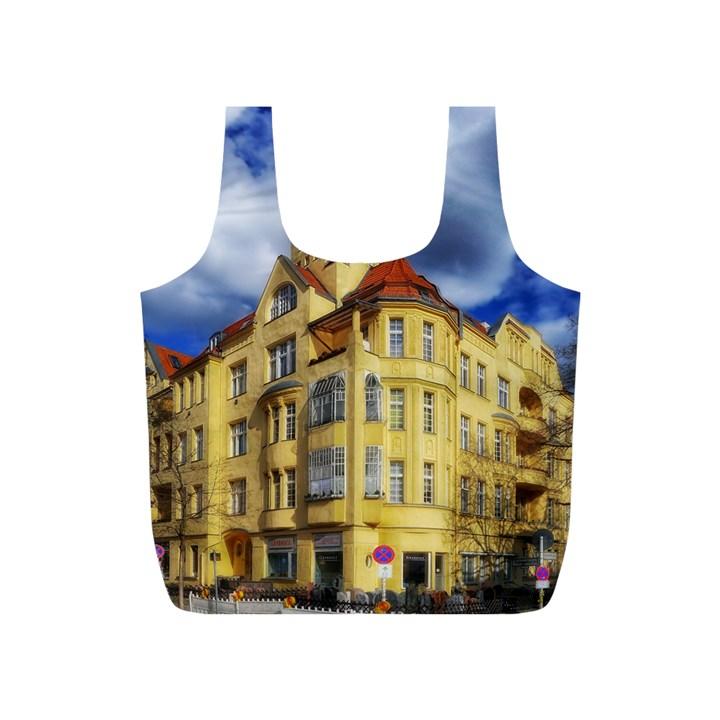 Berlin Friednau Germany Building Full Print Recycle Bags (S)