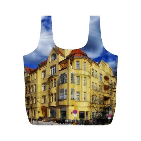 Berlin Friednau Germany Building Full Print Recycle Bags (M)