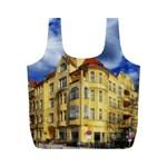 Berlin Friednau Germany Building Full Print Recycle Bags (M)  Back