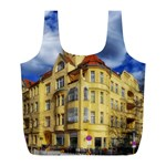 Berlin Friednau Germany Building Full Print Recycle Bags (L)  Front