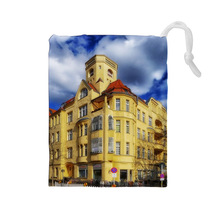 Berlin Friednau Germany Building Drawstring Pouches (Large)