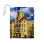 Berlin Friednau Germany Building Drawstring Pouches (Large)  Back