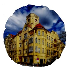 Berlin Friednau Germany Building Large 18  Premium Flano Round Cushions