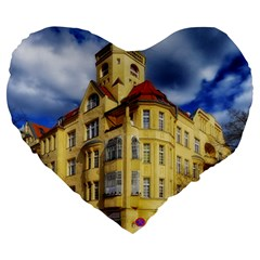 Berlin Friednau Germany Building Large 19  Premium Flano Heart Shape Cushions