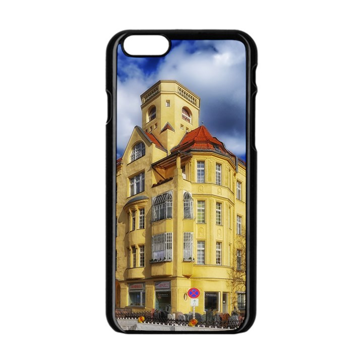 Berlin Friednau Germany Building Apple iPhone 6/6S Black Enamel Case