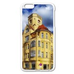 Berlin Friednau Germany Building Apple iPhone 6 Plus/6S Plus Enamel White Case Front