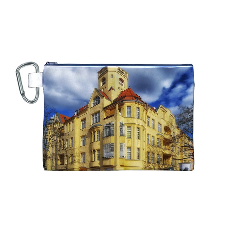 Berlin Friednau Germany Building Canvas Cosmetic Bag (M)