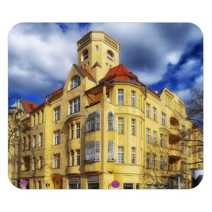 Berlin Friednau Germany Building Double Sided Flano Blanket (Small)