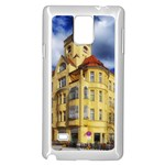 Berlin Friednau Germany Building Samsung Galaxy Note 4 Case (White) Front