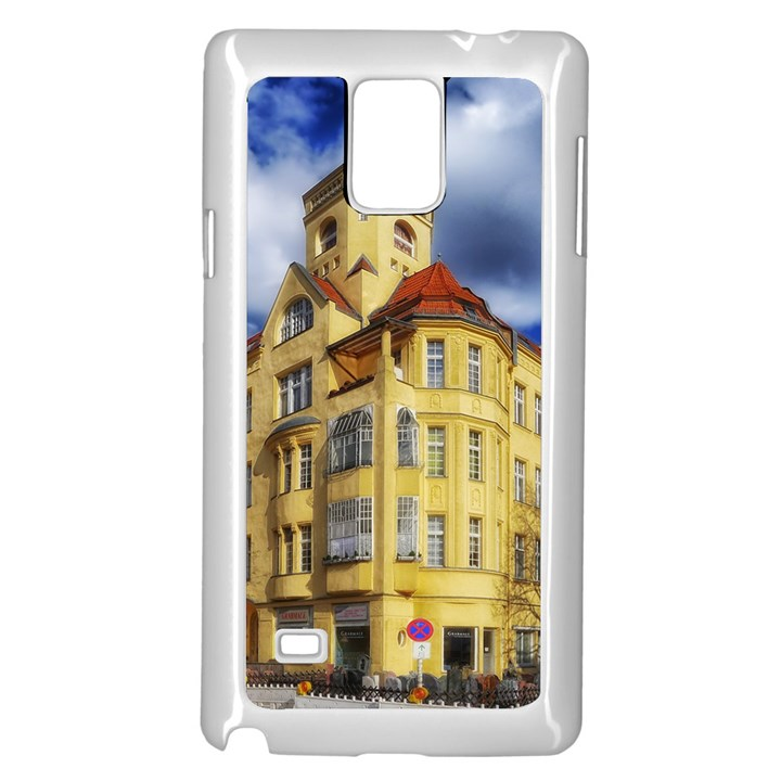 Berlin Friednau Germany Building Samsung Galaxy Note 4 Case (White)