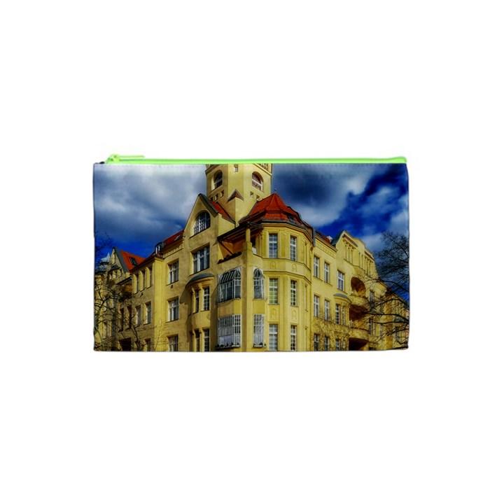 Berlin Friednau Germany Building Cosmetic Bag (XS)