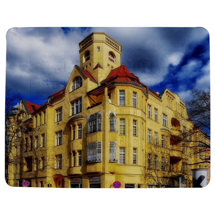 Berlin Friednau Germany Building Jigsaw Puzzle Photo Stand (Rectangular)