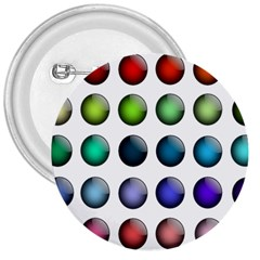 Button Icon About Colorful Shiny 3  Buttons