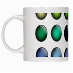 Button Icon About Colorful Shiny White Mugs Left