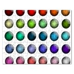 Button Icon About Colorful Shiny Rectangular Jigsaw Puzzl Front