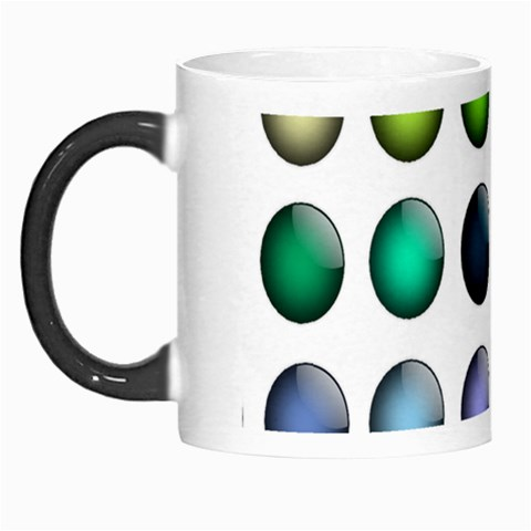 Button Icon About Colorful Shiny Morph Mugs