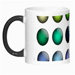 Button Icon About Colorful Shiny Morph Mugs Left