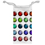 Button Icon About Colorful Shiny Jewelry Bags Back
