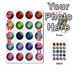 Button Icon About Colorful Shiny Playing Cards 54 Designs  Front - Joker2
