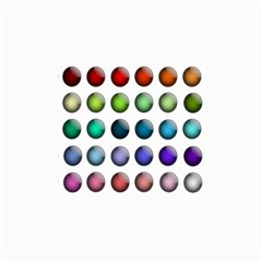 Button Icon About Colorful Shiny Collage Prints