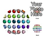 Button Icon About Colorful Shiny Playing Cards 54 (Round)  Front - Joker1