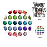Button Icon About Colorful Shiny Playing Cards 54 (Round)  Front - Joker2