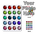 Button Icon About Colorful Shiny Multi-purpose Cards (Rectangle)  Front 32