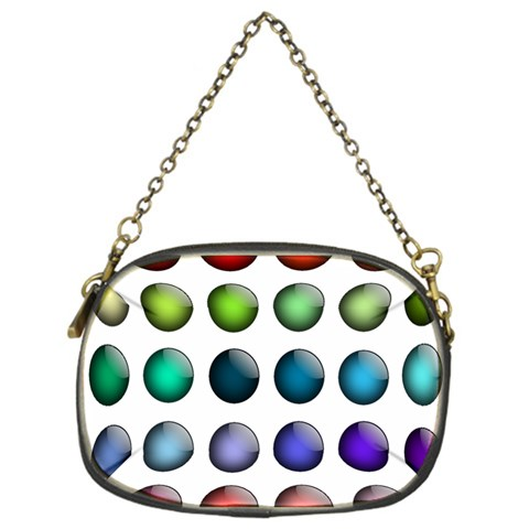 Button Icon About Colorful Shiny Chain Purses (One Side)