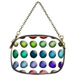 Button Icon About Colorful Shiny Chain Purses (One Side)  Front