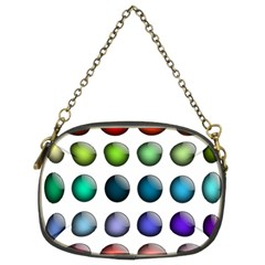 Button Icon About Colorful Shiny Chain Purses (Two Sides)