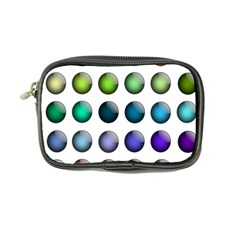 Button Icon About Colorful Shiny Coin Purse