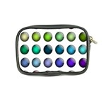 Button Icon About Colorful Shiny Coin Purse Back