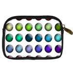 Button Icon About Colorful Shiny Digital Camera Cases Back