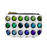 Button Icon About Colorful Shiny Mini Coin Purses Front