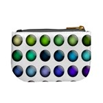 Button Icon About Colorful Shiny Mini Coin Purses Back