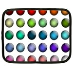 Button Icon About Colorful Shiny Netbook Case (XXL)  Front