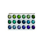 Button Icon About Colorful Shiny Cosmetic Bag (Small)  Front