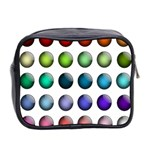 Button Icon About Colorful Shiny Mini Toiletries Bag 2-Side Back