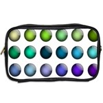 Button Icon About Colorful Shiny Toiletries Bags 2-Side Back
