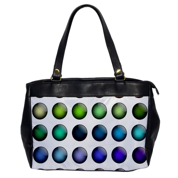 Button Icon About Colorful Shiny Office Handbags