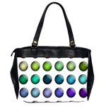 Button Icon About Colorful Shiny Office Handbags (2 Sides)  Back