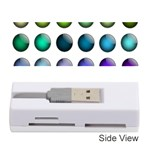 Button Icon About Colorful Shiny Memory Card Reader (Stick)  Front
