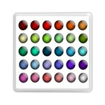 Button Icon About Colorful Shiny Memory Card Reader (Square)  Front
