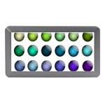 Button Icon About Colorful Shiny Memory Card Reader (Mini) Front