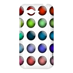 Button Icon About Colorful Shiny HTC Rhyme