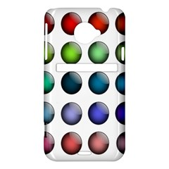 Button Icon About Colorful Shiny HTC Evo 4G LTE Hardshell Case